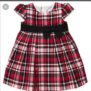 Carters Baby Girls Plaid Dress